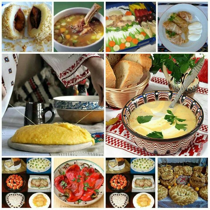 Romanian traditional foods