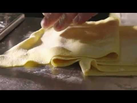 Итальянская домашняя паста. Pasta Fresca. Фреш паста. - YouTube