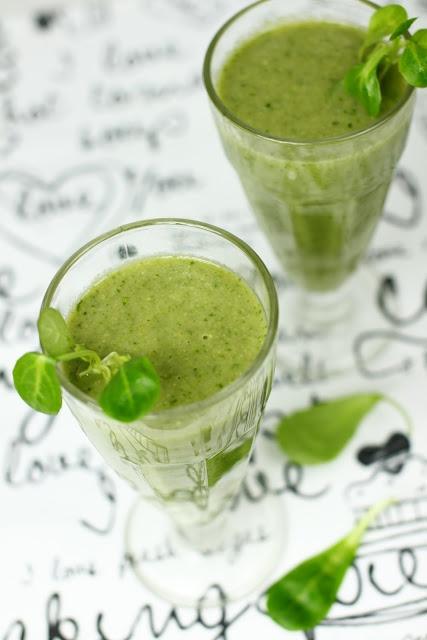 Just My Delicious: Zielony #koktajl z roszponki