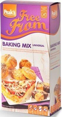 SPEAK'S farine universelle sans gluten 450gr. Gluten free. SPEAK'S préparation universelle pour vos gâteaux sans gluten, cake, pâte à pizza sans gluten, petits pain, biscuits...sans gluten. Farine pour vos pâtisseries sans gluten www.chockies.net