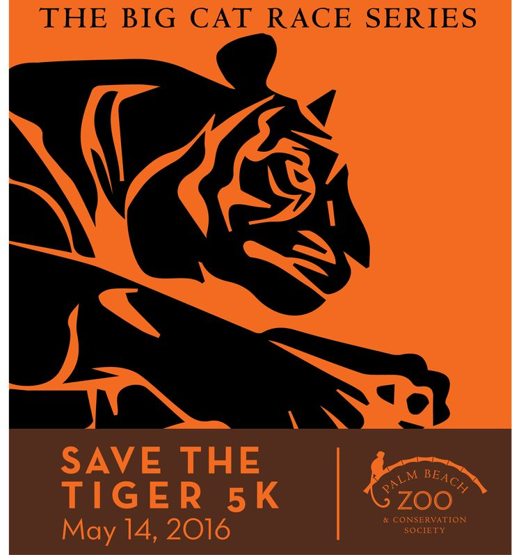 Run or Walk to help save the Malayan tiger!  The Malayan tiger is the most endangered of the 5 remaining species of tigers. It's estimated that there are fewer than 300 in the wild. The Palm Beach Zoo works closely with the Wildlife Conservation Society (WCS), supporting species and habitat research and protection at Endau-Rompin National Park in Malaysia. A portion of your race registration fee helps fund our involvement with WCS.  You'll run or walk through the beautiful paths ...