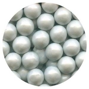 Sixlets Pearl White 10MM | Edible Decorations | Confectionery House