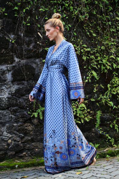 Kimono Robe = best pjs EVER!