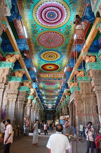 Meenakshi Mandir in Madurai. #India