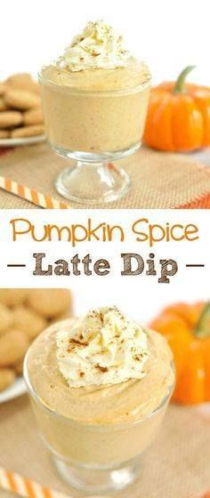All the flavors of a All the flavors of a pumpkin spice latte into a festive fall dessert. This Pumpkin Spice Latte Cream Cheese Dip will be a hit at your fall gathering or Halloween party. Serve with apples as a simple fruit dip for a fall appetizer or ginger snaps graham crackers or wafers as an easy fall dessert recipe. This is a Starbucks PSL in a dip. Recipe : http://ift.tt/1hGiZgA And @ItsNutella  http://ift.tt/2v8iUYW  All the flavors of a All the flavors of a pumpkin spice latte...