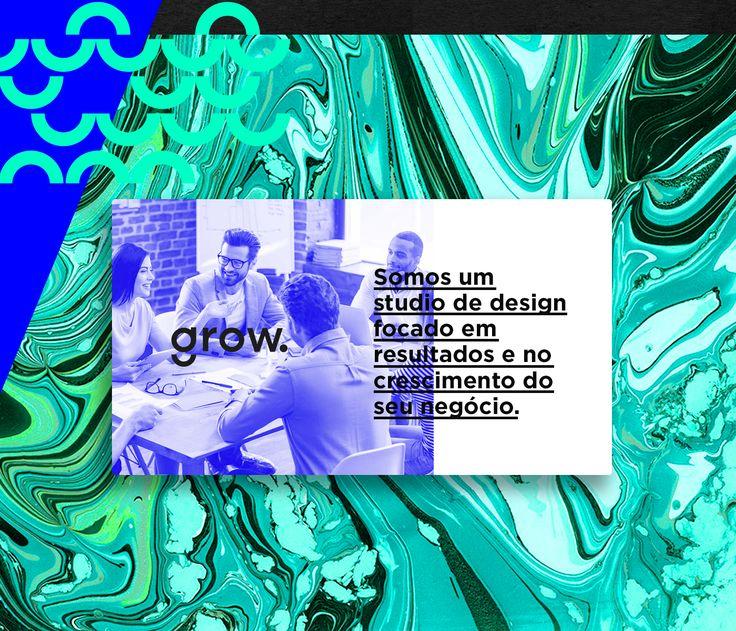 Branding Grow Designgrow é crescer.transformar, expandir.são horizontes que se expandem, paralelos que se cruzam, formas que ganham vida e espalham-se em meio aos conceitos nos quais acreditamos.grow é d-sign.e o d-sign é inevitável.