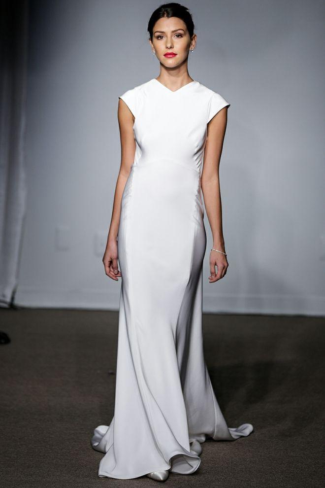designer-hochzeitskleider anna maier ulla maija couture hochzeitskleid schlicht elegant brautkleider 2014