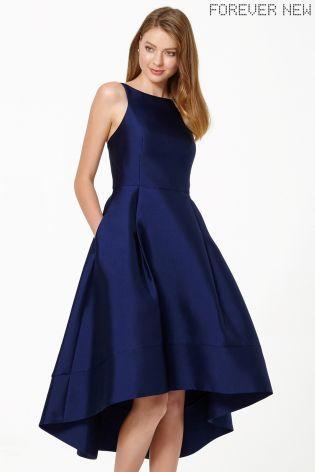 Структурированное платье Forever New с удлиненной сзади кромкой - Покупайте прямо сейчас на сайте Next: Украина