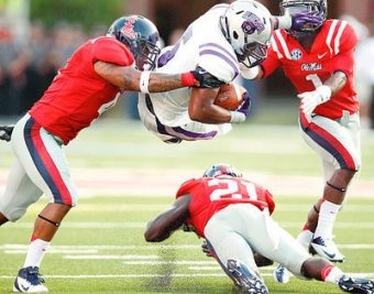 Ole Miss v Central Arkansas - Week 1 Report Card (BleacherReport.com)