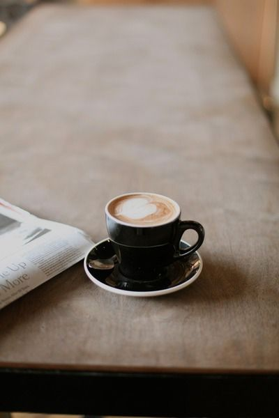 Its the little things that makes life magic or good: Like morning coffee and the paper