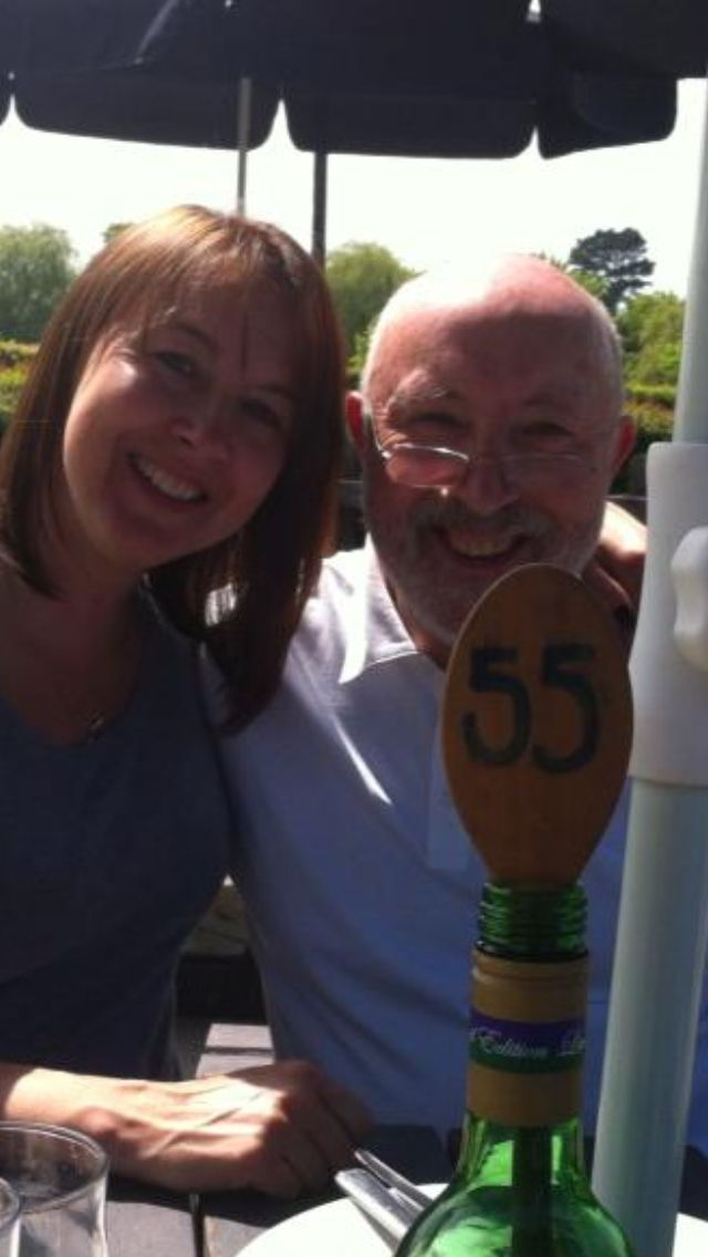 Andrea Wood and her Dad reunited by FinderMonkey - http://www.findermonkey.co.uk/blog/289-how-to-find-your-father