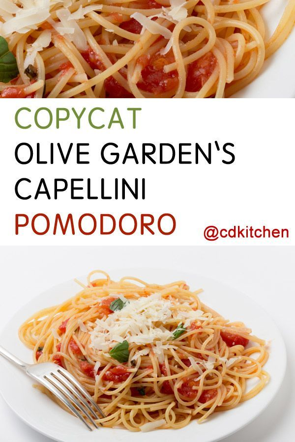 Made with black pepper, garlic, plum tomatoes, fresh basil, olive oil, Parmesan cheese, angel hair pasta | CDKitchen.com