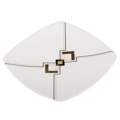 Art Deco Plate from Edwards and Lockett . Buy from the online gift shop at English Heritage.