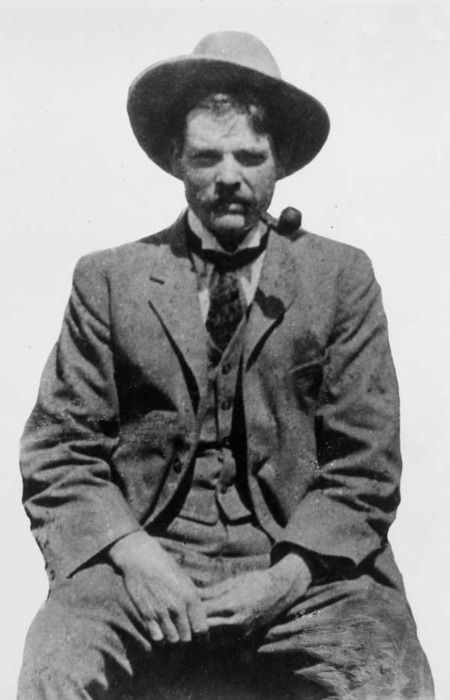 Herbert Hoover in his youth as a mining engineer.  Circa 1900. - #history #politics