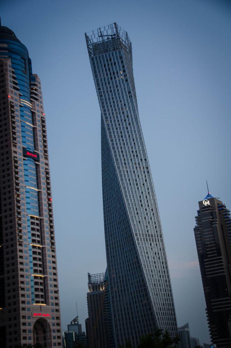 Dubai buildings.