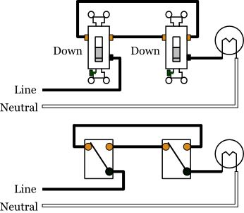 Wiring Diagram For 3 Way Light Switch Light switch