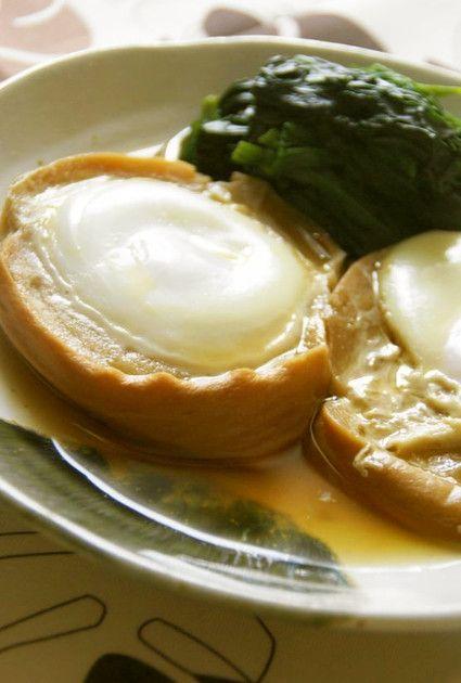 大切な祖母の味☆車麩の落とし卵煮 by うさぎのシーマ