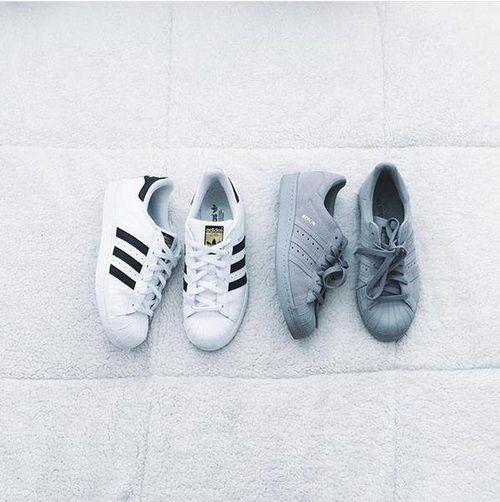 Adidas Superstar #fashion #shoes #white #adidas #superstar #sportowe