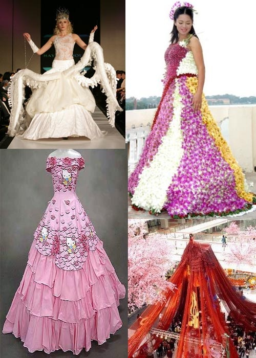 17 best ideas about Funky Wedding Dresses on Pinterest | Princess ...