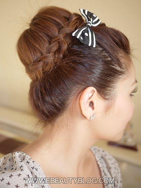 Hair Bun Braid
