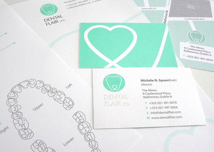 Love this logo - dental branding