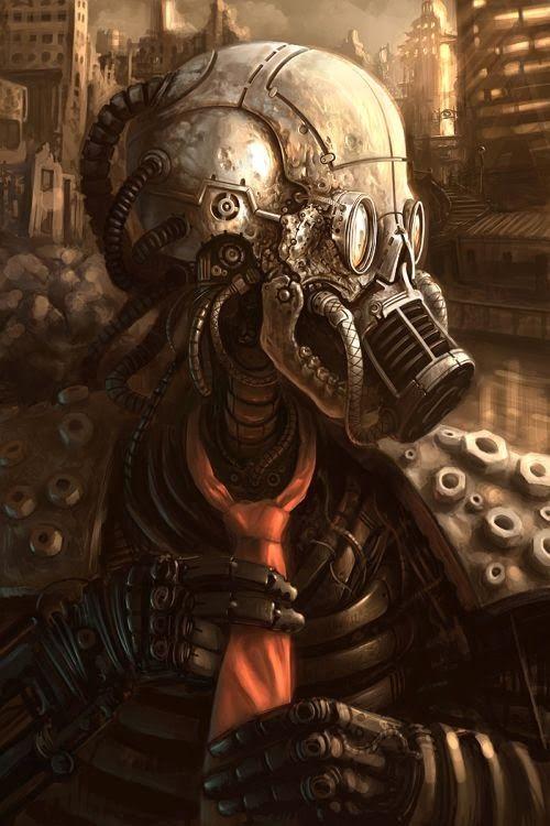 As ilustrações de fantasia e ficção científica de Daniel Conway
