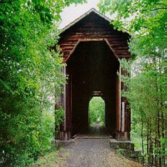 Wright's Railroad Covered Bridge - New Hampshire