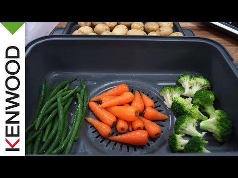 Recette de Légumes vapeur avec le robot cuiseur kCook Multi de Kenwood. - YouTube