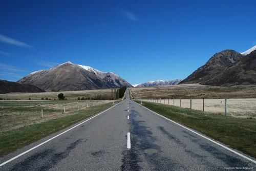 New Zealand South Island road trip....