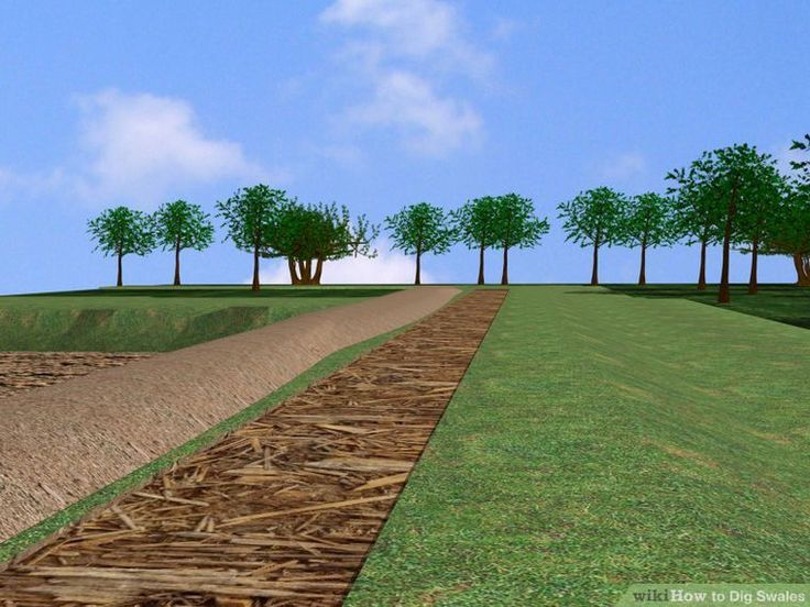 How to Dig Swales: 9 Steps (with Pictures) - wikiHow