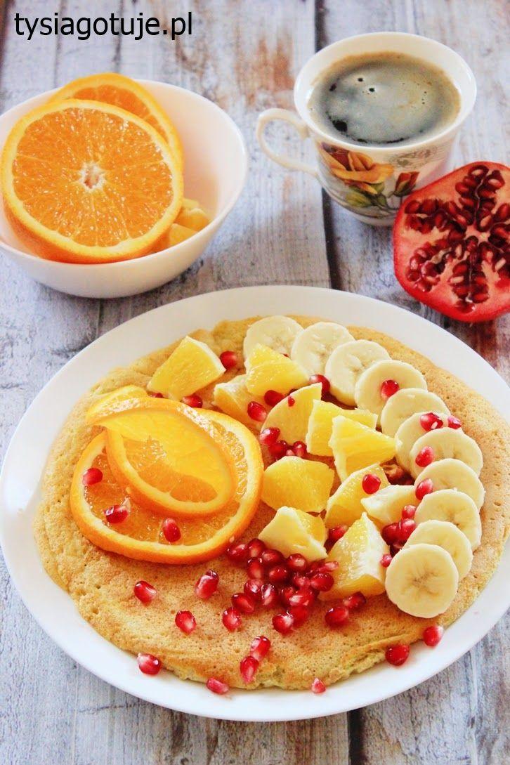Znalezione obrazy dla zapytania omlet z owocami