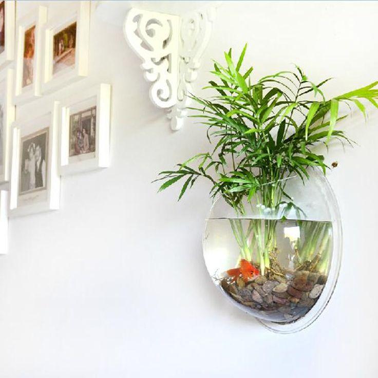 Interior Romantic Zen Wall Aquarium