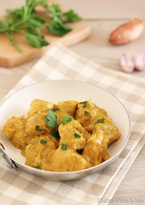 Petto di pollo al curry ricetta senza yogurt e senza panna Dulcisss in forno by Leyla