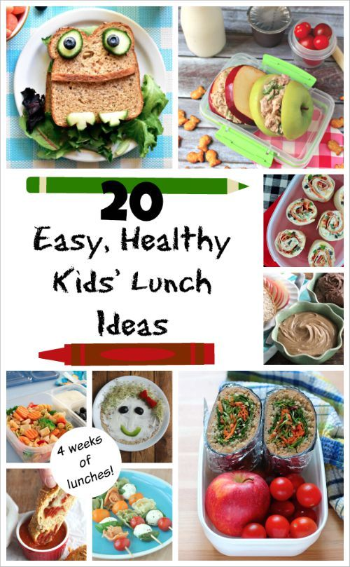 easy healthy kids 39 lunch ideas a whole month of fun lunch box