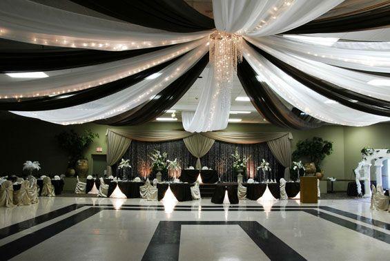 Diy Wedding Decor With Drape