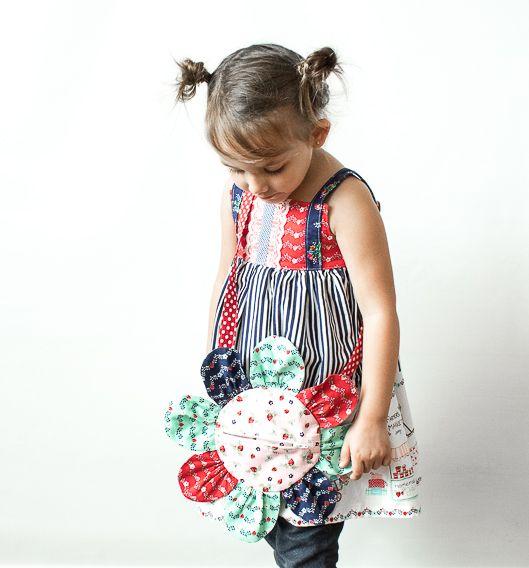 Girl's Flower Purse Tutorial