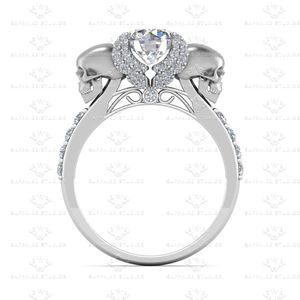 I would say yes.. Show details for 'Ailes de L'amour' 1.30ct Natural White Diamond White Gold Skull Engagement Ring