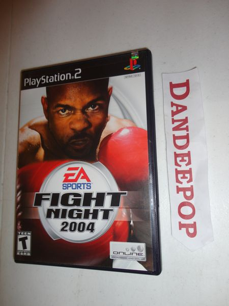 Playstation 2 Fight Night 2004 Video Game find me at www.dandeepop.com