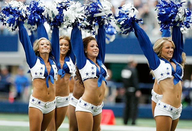 Dallas Cowboys Cheerleaders Oops | Dallas Cowboys Cheerleaders