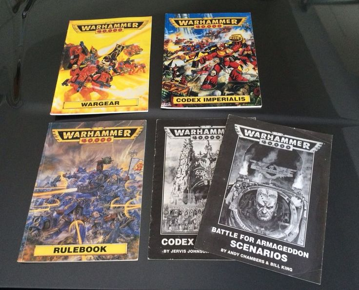 Warhammer 40k Rulebook Wargear Codex Imperialis Good Shape Games Workshop 1993 #GamesWorkshop