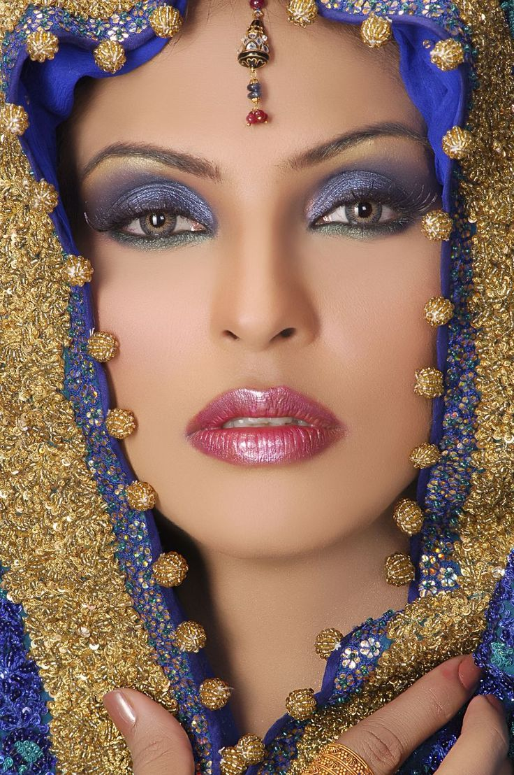 exotic blue and gold and gorgeous!