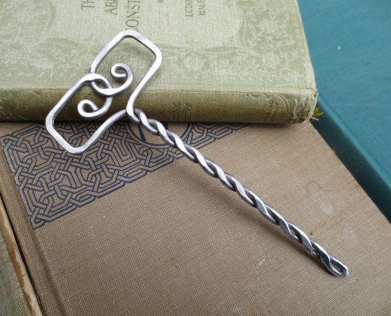 Norse thor's Hammer Mjolnir Aluminum Hair by nicholasandfelice, $22.00