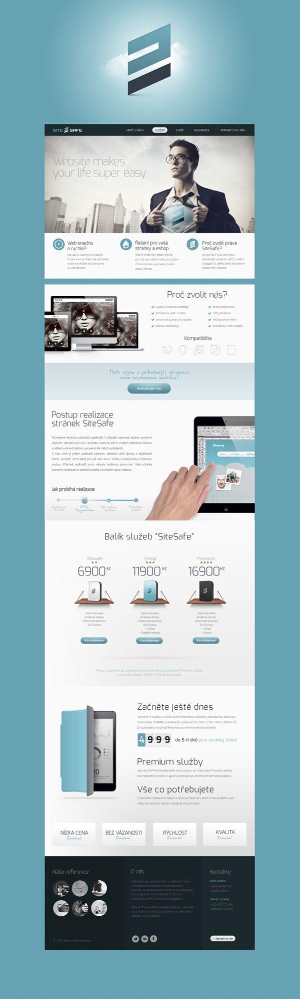 SiteSafe by Peter Makovicky , via Behance