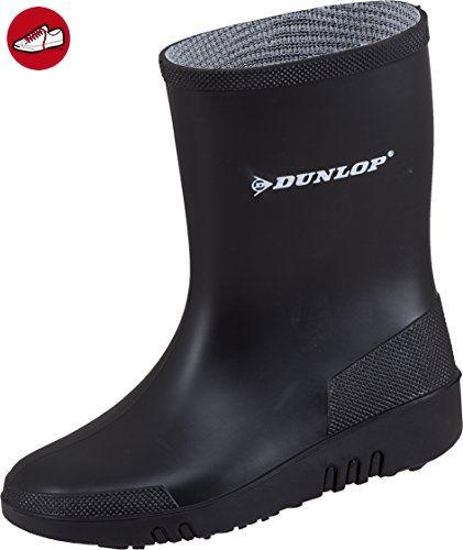 Dunlop Mini Kinder Gummistiefel Schwarz Gr. 26 - Dunlop schuhe (*Partner-Link)
