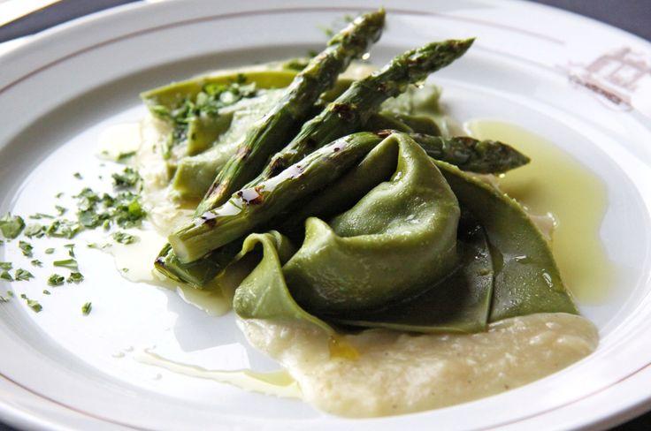 Asparagus Tortelloni