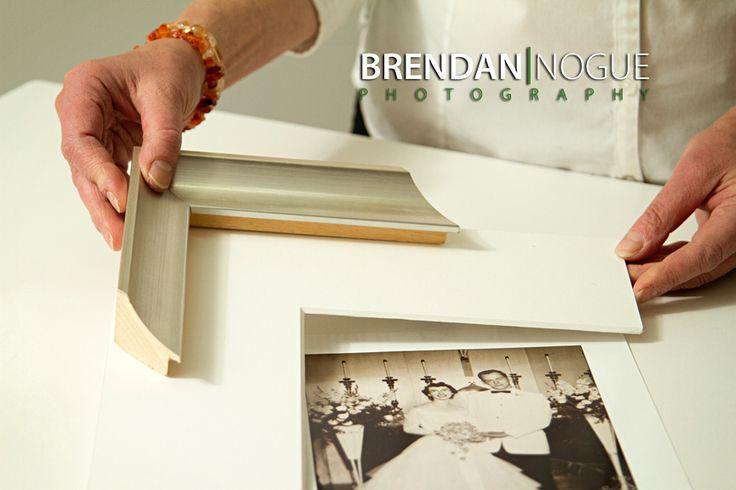 Framing your wedding photos