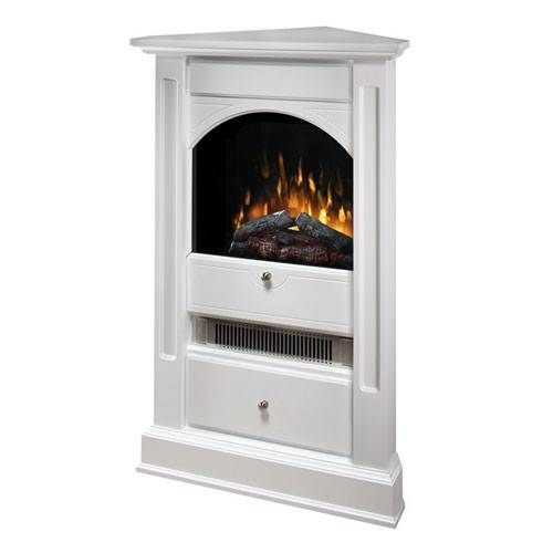 Dimplex Chelsea Corner Electric Fireplace White In 2019
