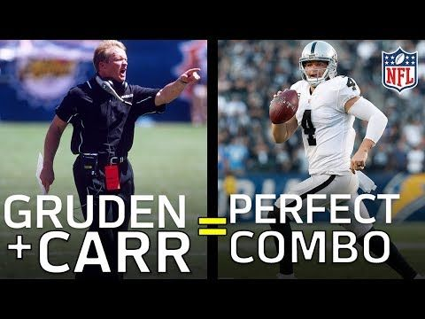 Why Jon Gruden & Derek Carr Are the Perfect Coach, QB Combo | Film Review | NFL Highlights - YouTube