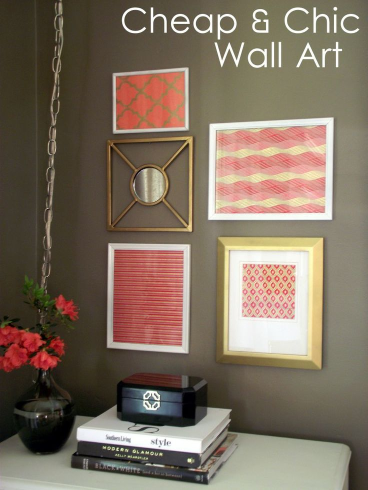 Chic Wall Art 136 best decorating: diy wall art images on pinterest | diy wall