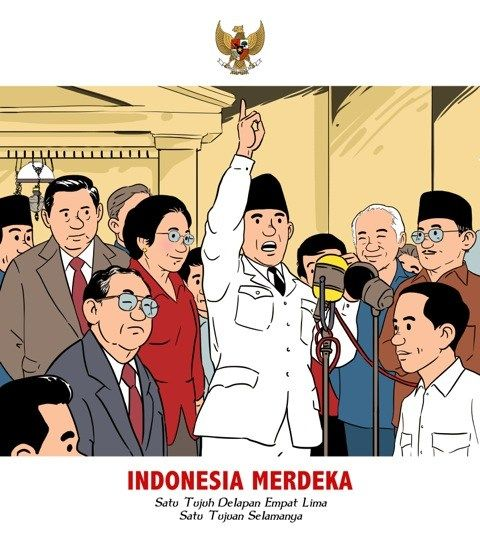 Dari Pasar Beringharjo ke arakan ondel-ondel Jakarta, dari Sungai Kapuas hingga ke Gang Potlot: Joko Widodo blusukan ke penjuru Indonesia. Dengan balutan kemeja putih lengan panjang dan celana hitamnya, Joko Widodo dihadirkan dalam ilustrasi bergaya khas komik ciptaan Hergé yang penuh aksi, Tintin. Seri ilustrasi 'Kisah Blusukan Jokowi' itu dengan segera menyebar di beragam perangkat…